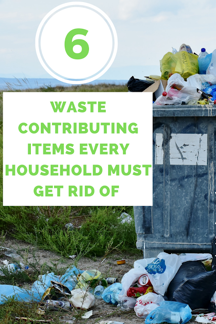 6 Waste Contributing Items Every Household Must Get Rid of Immediately