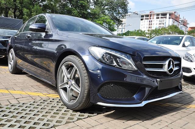 Mercedes C300 AMG thiết kế thể thao, vận hành mạnh mẽ