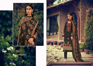 House OF Lawn Alfaz Glace Cotton Salwar Suits Collection