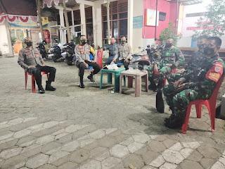 Polres Pelabuhan Makassar Bersama TNI Perketat Pengamanan di Kantor PPK