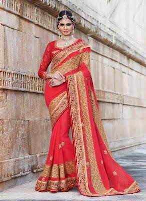 Traditional-indian-banarasi-silk-saree-new-styles-for-girls-7