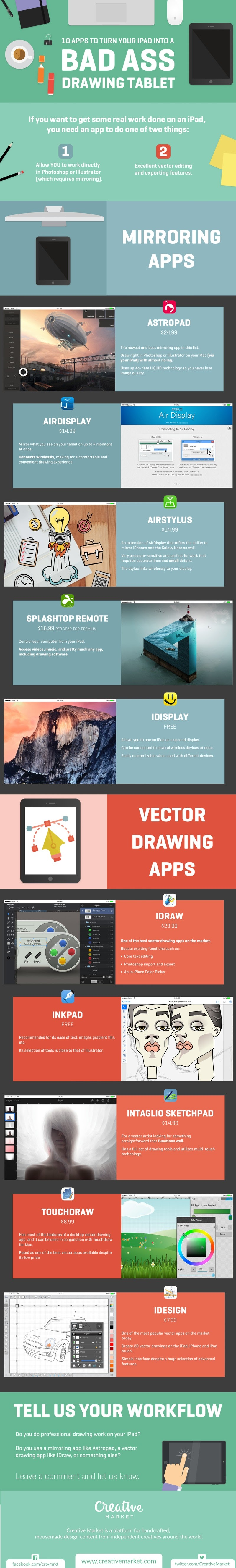 10 Apps to Turn Your iPad Into a Bad Ass Drawing - #infographic