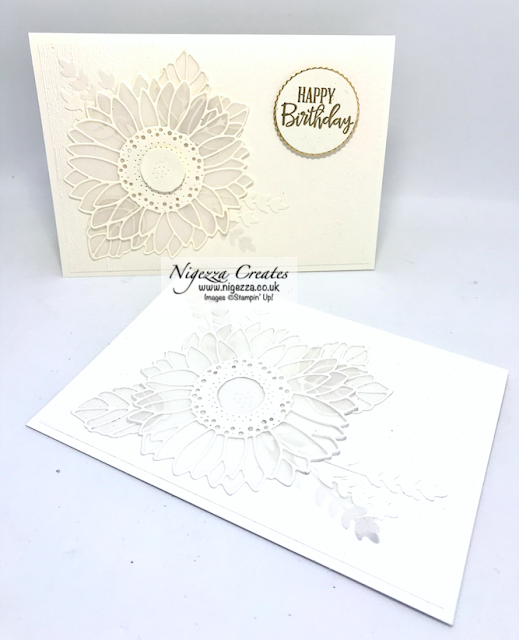 Nigezza Creates with Stampin' Up! Sunflower Dies