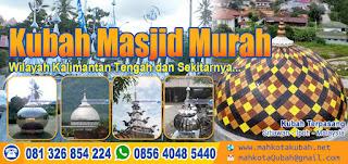jual kubah masjid enamel stainless kaltim