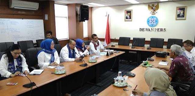 Di Dewan Pers, Demokrat Minta Masukan Hadapi <i>Asia Sentinel</i>