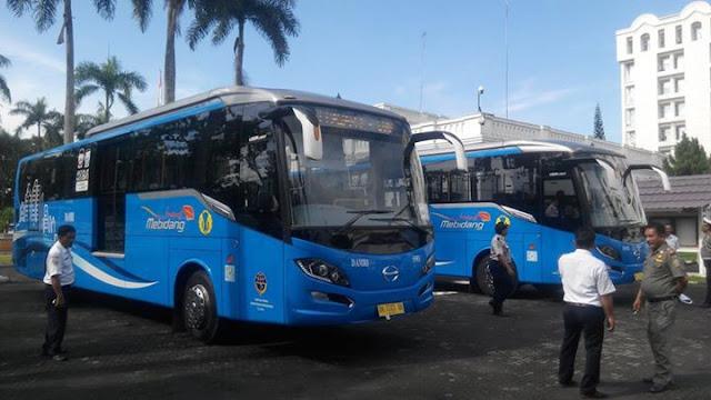 Transportasi Medan MEBIDANG, Rute Medan-Binjai-Deli Serdang