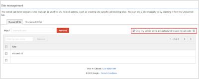 Cara amankan Script Code Google Adsense