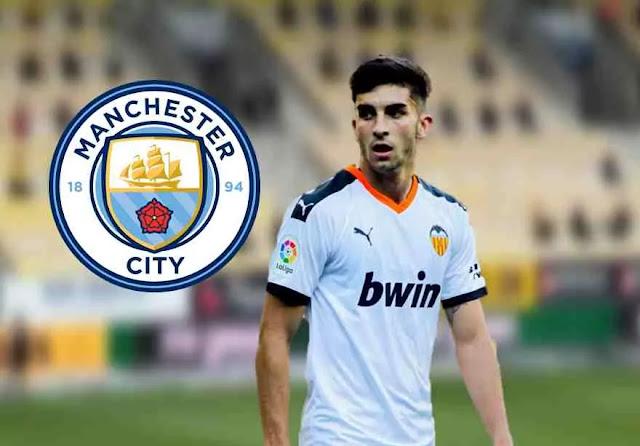 Manchester City in talks to sign Ferran Torres