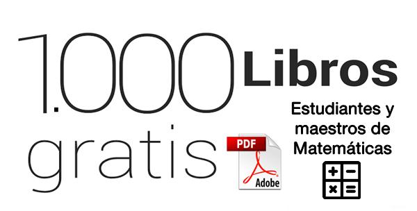 DESCARGA GRATIS 1.000 LIBROS EN PDF PARA ESTUDIANTES Y