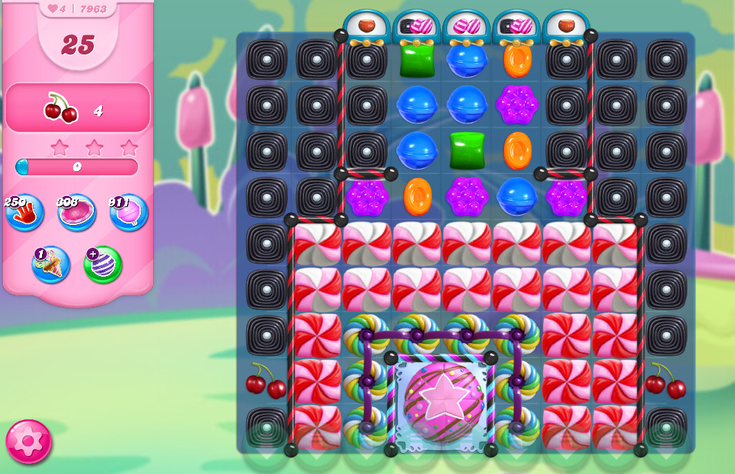 Candy Crush Saga level 7963