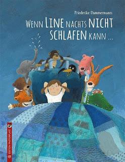 Wenn Line nachts nicht schlafen kann ; Friederike Dammermann ; Edition Pastorplatz