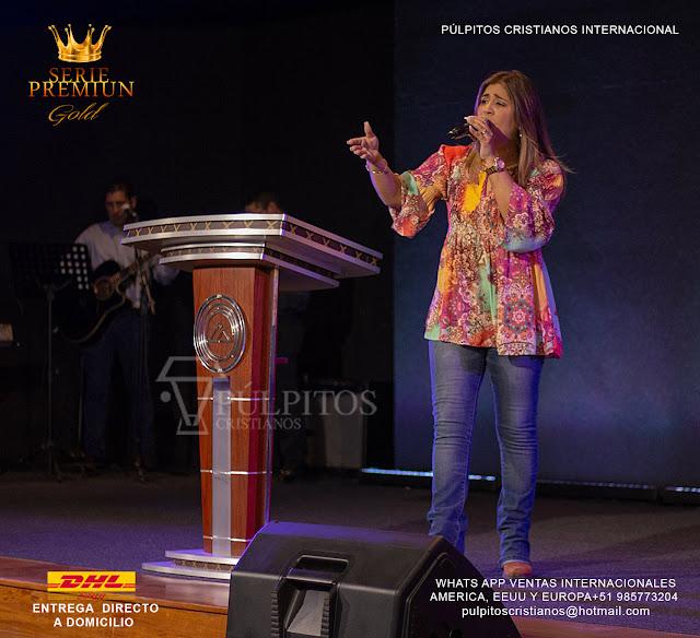 SALE PULPIT  THE KING JESUS , venta de púlpito modelo el  rey jesus