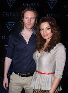 Shama Sikander With Alexx O'Nell