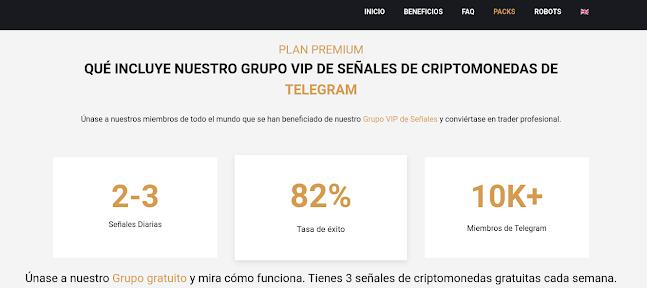 Unirse a grupos de telegram de criptos de Binance