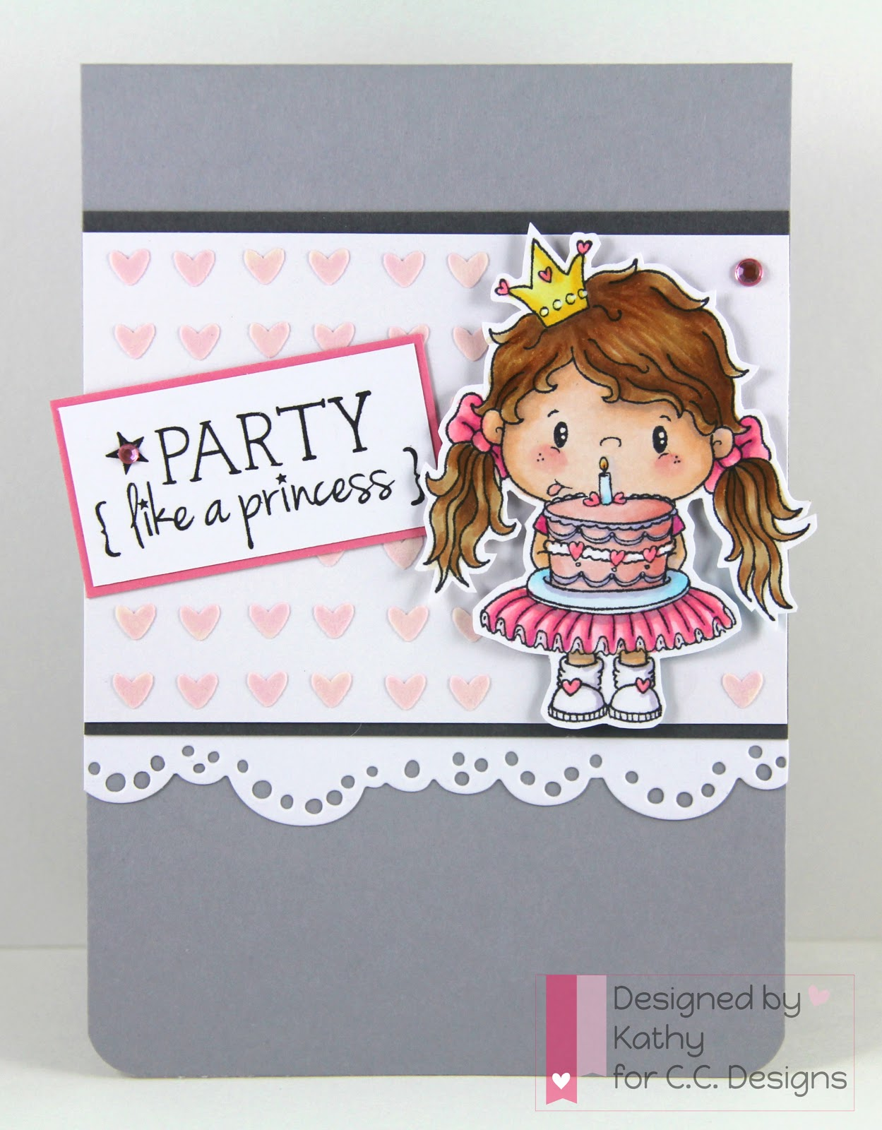 cc designs, pollycraft, princess