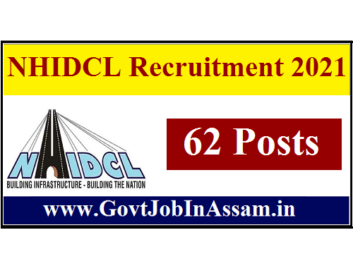 NHIDCL Recruitment 2021 :: Apply For 62 Managerial Vacancy