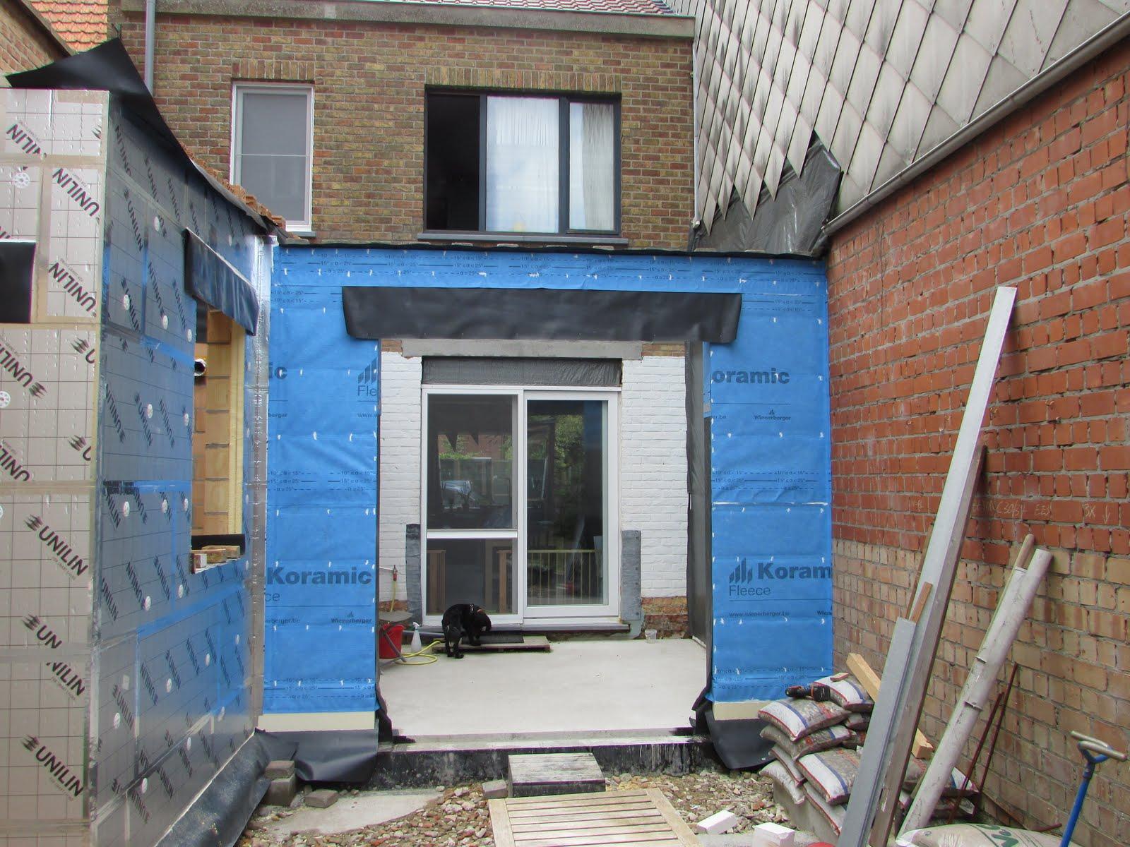 Verbouwing van ons ouderlijk huis ruwbouw uitbreiding 30 - Idee huis uitbreiding ...