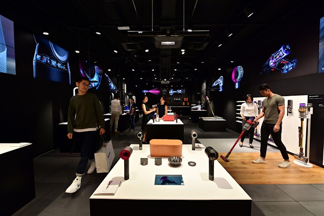 Dyson Demo Store Terbaru Dibuka di Mid Valley Southkey, Johor Bahru