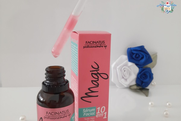 Resenha - Magic Sérum Facial Facinatus