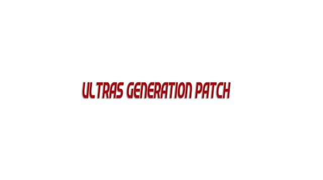 Ultras Generation Patch 17/18 2010