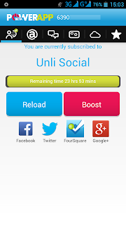 Smart Unli Social Time Remaining