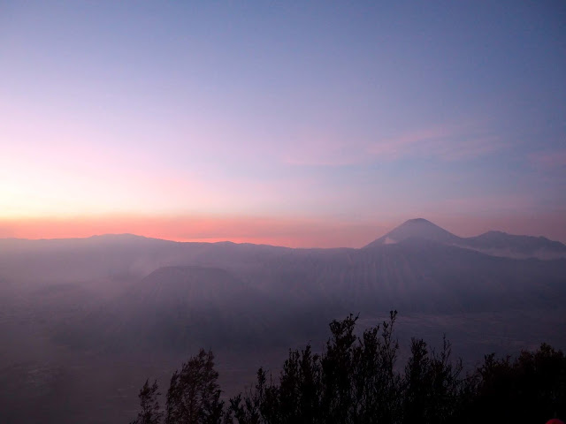 Sunrise over Mt Bromo, Java, Indonesia
