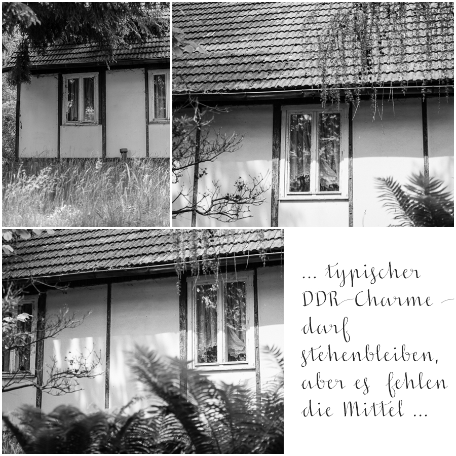 Blog + Fotografie by it's me! | fim.works | SchwarzWeissBlick No 19 | Lost Places im Spreewald , Brandenburg | leerstehendes Haus mit DDR-Charme