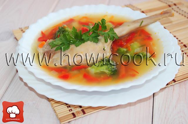 рецепт супа с кроликом