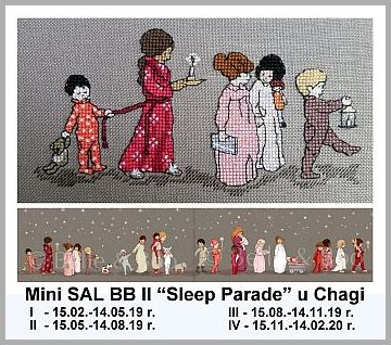 "Mini SAL BB II ""Sleep Parade"""