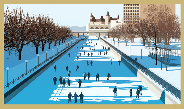 The World's Greatest Outdoor Ice Rinks