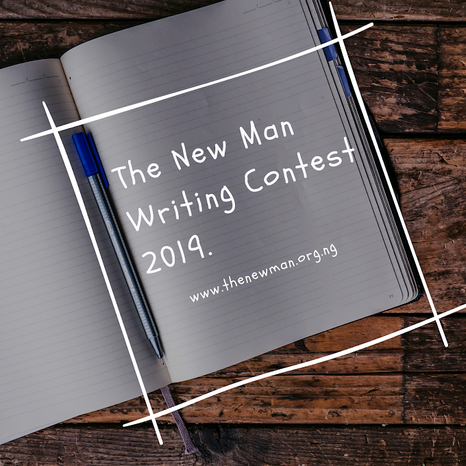 Call for Entries: The New Man Writing Contest 2019