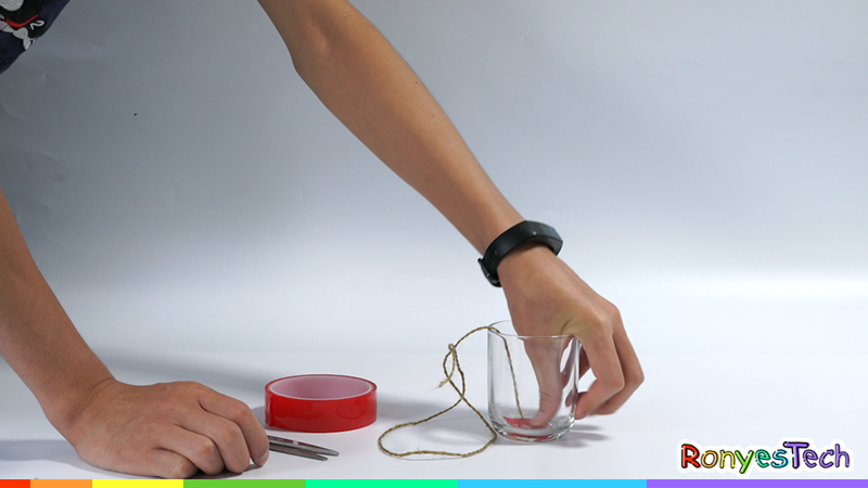Pour Water down a String | STEM Activity Stpe 2