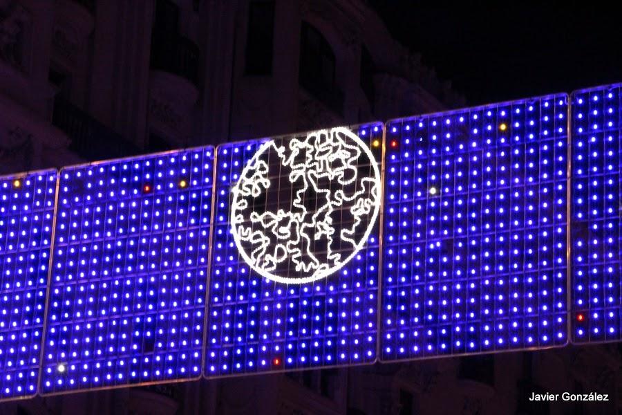 Madrid se llena de luz en Navidad