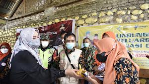 Bupati Tinjau Pelaksanaan Vaksinasi di Desa Ntonggu