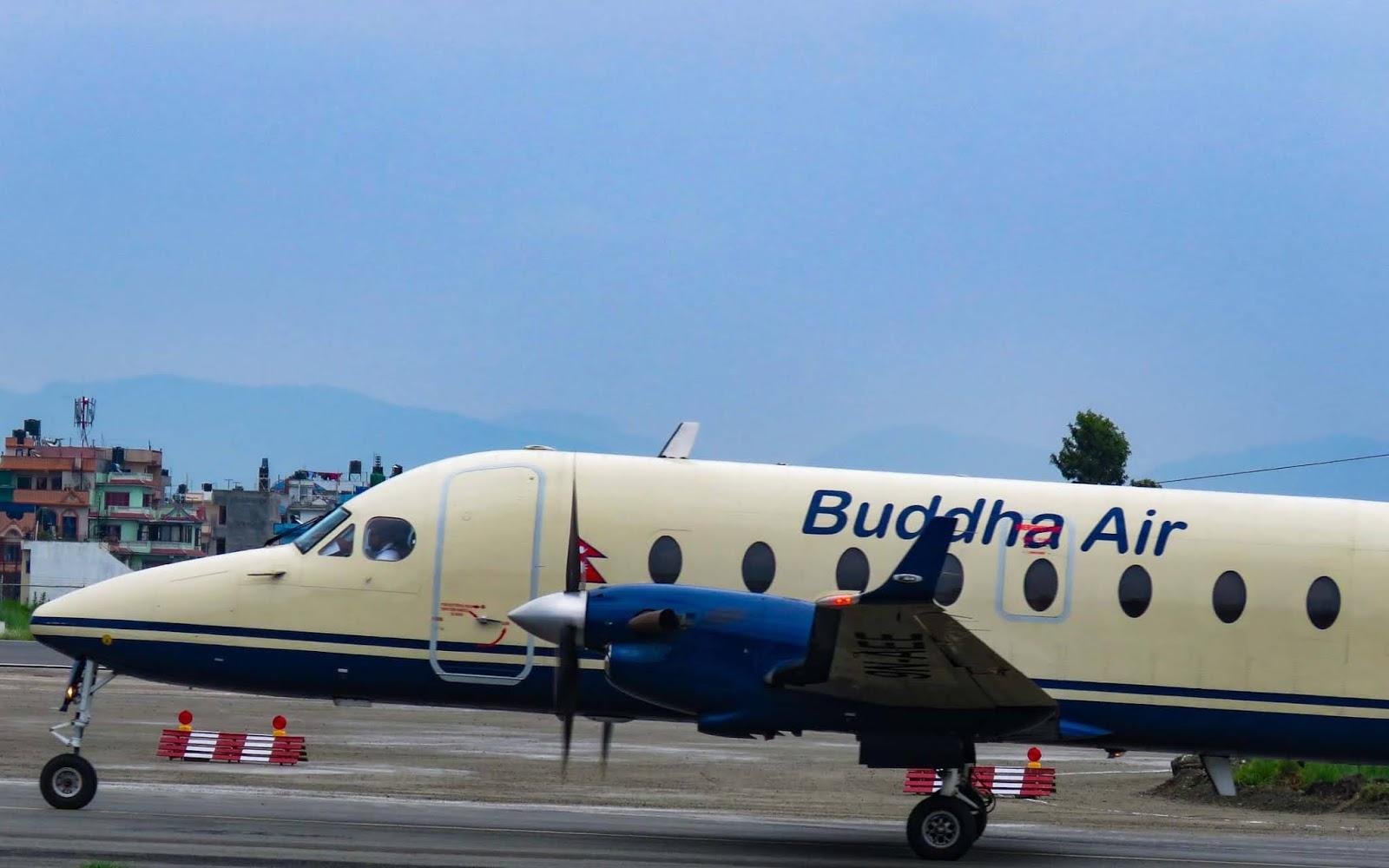 Buddha air aircraft