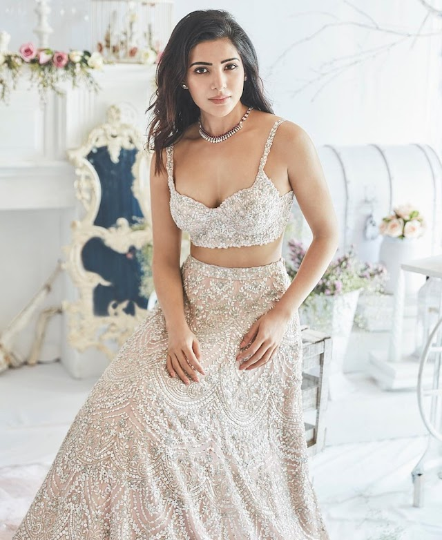 Actress Samantha Latest Glamorous Hot Photos 2019
