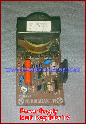 Kit Pengganti Power Supply TV yang Rusak - Multi Regulator TV