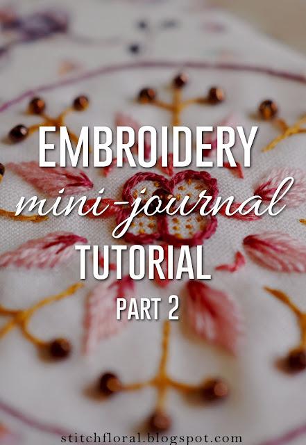 embroidery mandala tutorial