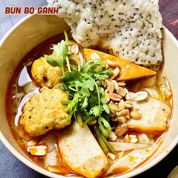 Mì Quảng Chả Tôm Cua - Quang Nam Noodle with Shrimp Ball & Crab Ball