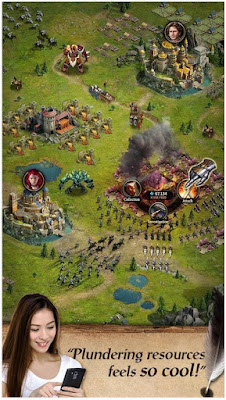 Download  Clash of Queens : Dragons Rise Apk