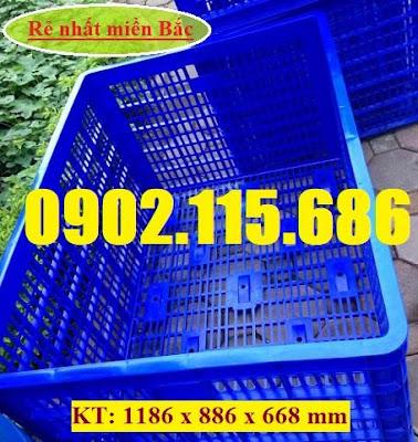 S3 Sọt nhựa 26 bánh xe, thùng nhựa 26 bánh xe, sọt nhựa HS015, sọt nhựa cỡ lớn, sọt nhựa kéo