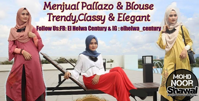 Review Blouse and Pallazo by El Helwa Century