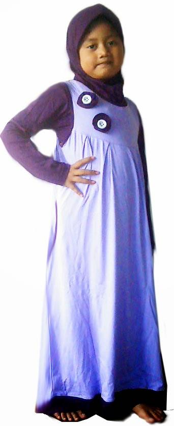 Baju Muslim Anak Wanita Usia 13 Tahun Untuk Lebaran Gaya