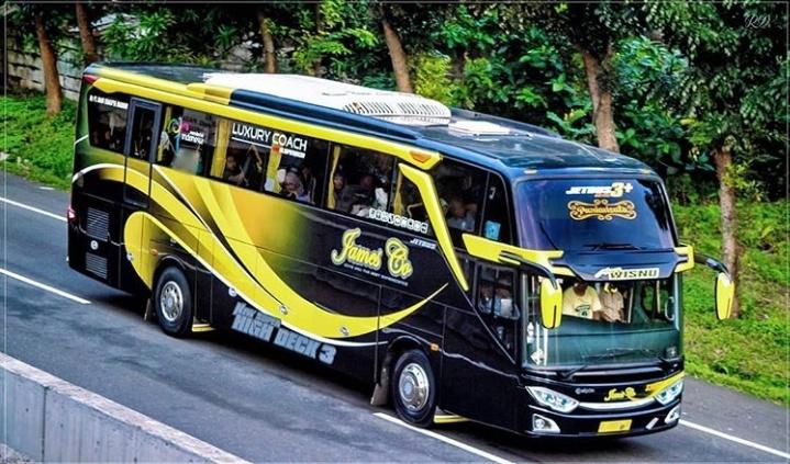 Sewa Bus Pariwisata Shd James Co 2019 Km Trans Sewa Bus