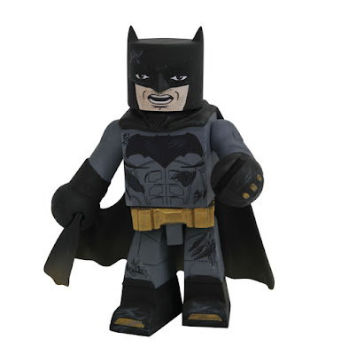 Walgreens Exclusive Justice League Movie Battle Damaged Batman Vinimates Vinyl Figure by Diamond Select Toys x DC Comics