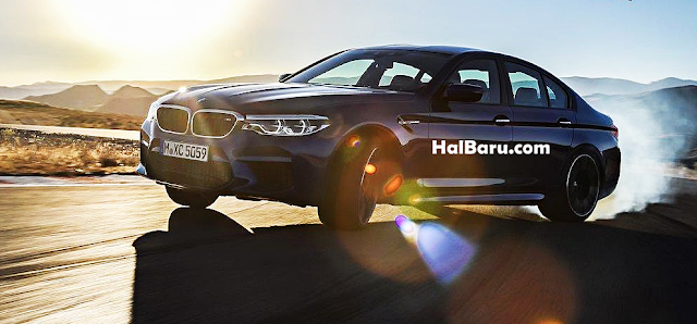 Trek balap BMW M5