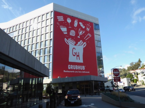 Giant Grubhub billboard