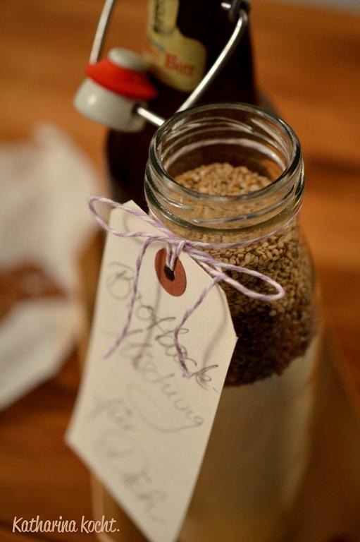 Brotbackmischung Fur Leinsamenbrot Geschenke Aus Der Kuche