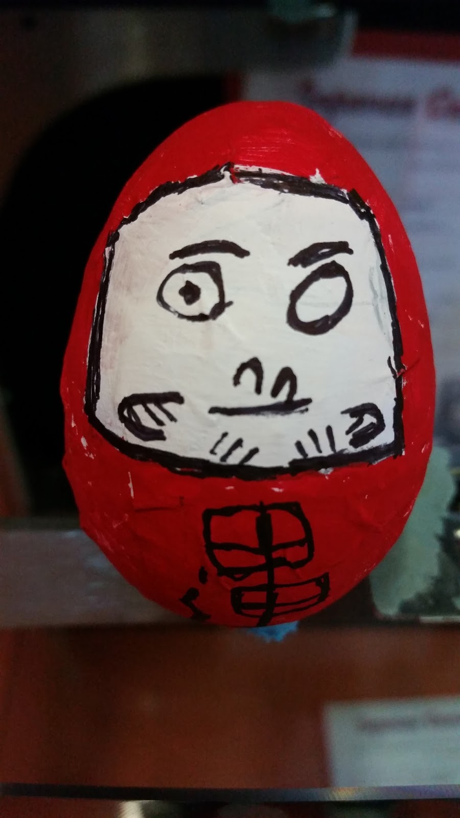Green is the Best Color: Second Grade Daruma Dolls