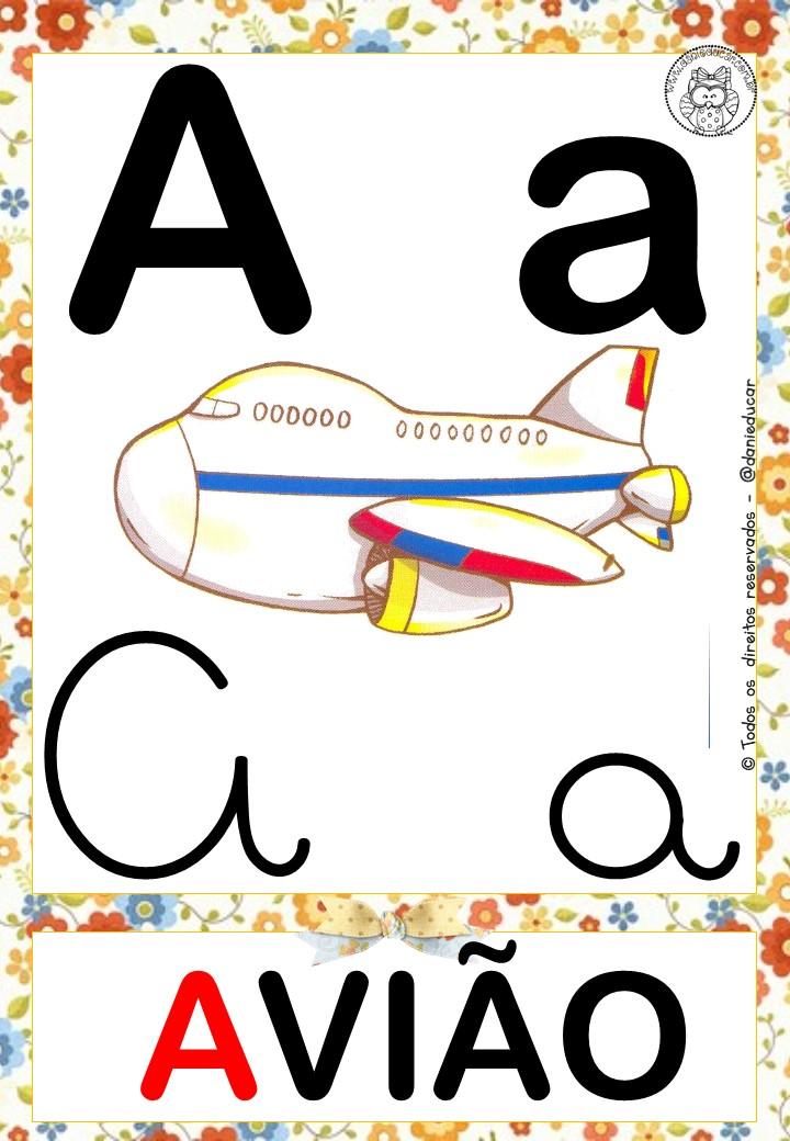 Alfabeto Colorido Quatro Tipos Letras Www Espacoeducar 286 29 Png